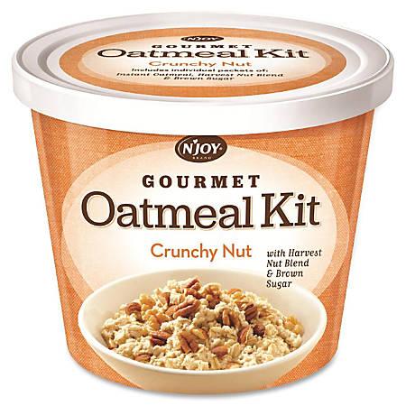 Sugarfoods Gourmet Crunchy Nut Oatmeal Kit, 2.29 Oz, Box of 8