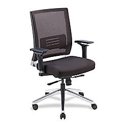 Lorell Executive Multifunction MeshFabric Swivel Chair