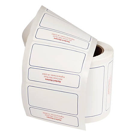 Mailing Labels, Rolled, Roll Of 250