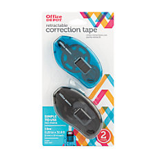 Office Depot Brand Correction Tape Slide