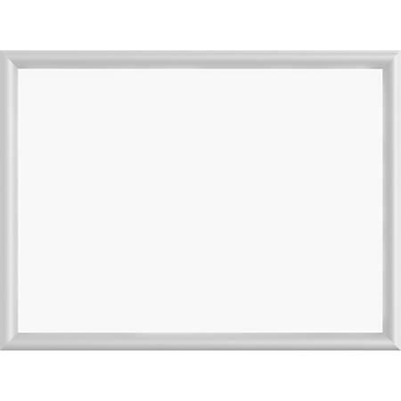 "Sparco Aluminum Frame Dry-Erase Board, 24"" x 18"""