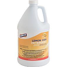 Genuine Joe Lemon Dish Detergent Gallon