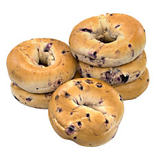 National Brand Fresh Blueberry Bagels Pack