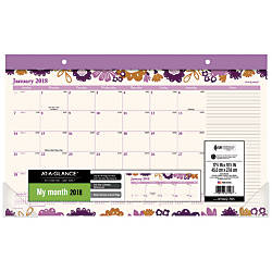 AT A GLANCE Ingrid Compact Monthly