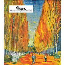 Retrospect Monthly Desk Calendar Vincent van