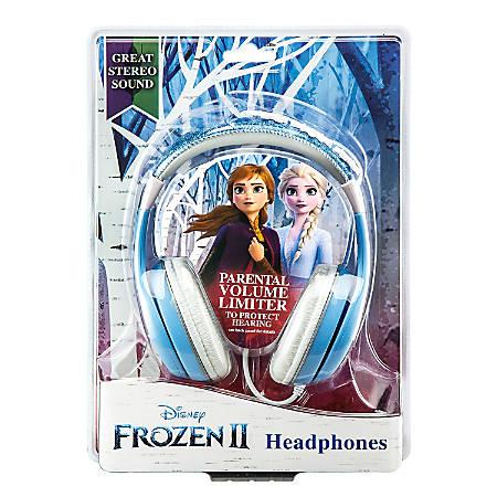 KIDdesigns Kid-Friendly Over-The-Ear Headphones, Frozen