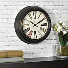 FirsTime Black Relic Wall Clock 10