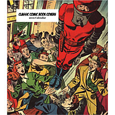 Retrospect Monthly Desk Calendar Classic Comic