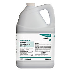 Diversey Morning Mist Neutral Disinfectant Cleaner