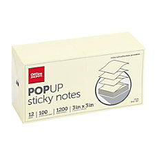 Office Depot Brand Pop Up Sticky