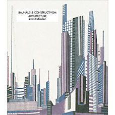 Retrospect Monthly Desk Calendar Bauhaus Constructivism