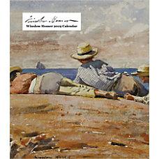 Retrospect Monthly Desk Calendar Winslow Homer