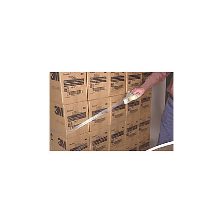 """3M® 8886 Stretchable Tape, 1 1/2"""" x 60 Yd., Clear, Case Of 24"""