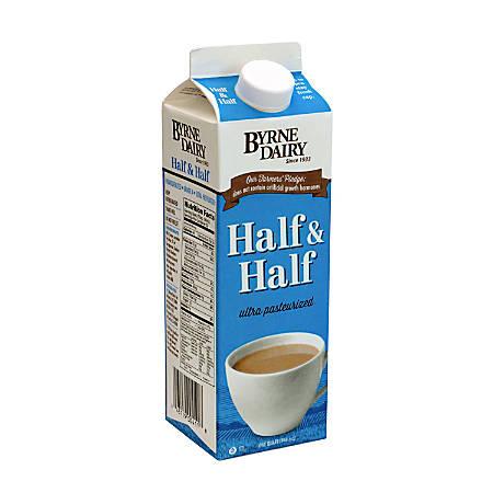 National Brand Half & Half, 1-Qt Carton