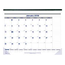 Blueline Net Zero Carbon Monthly Desk