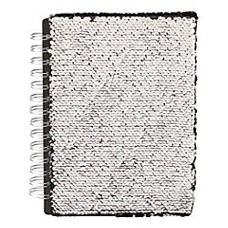 Office Depot Brand Reversible Sequins Notebook