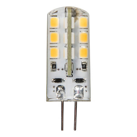Luminance G4 12V Bi-Pin LED Bulb, 2 Watt, 2700 Kelvin, 125 Lumens