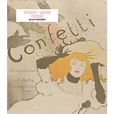 Retrospect Monthly Desk Calendar Toulouse Lautrec