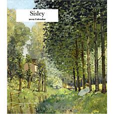 Retrospect Monthly Desk Calendar Alfred Sisley