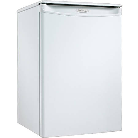 Danby Designer Compact All Refrigerator - 2.60 ft³ - Auto-defrost - Reversible - 2.60 ft³ Net Refrigerator Capacity - 253 kWh per Year - White - Smooth - Built-in