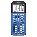 Texas Instruments® TI-84 Plus CE Color Graphing Calculator, Blue