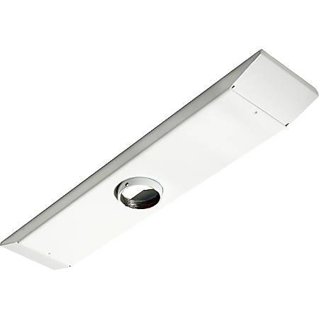 Peerless Ceiling Plate CMJ470W - Mounting component (ceiling plate) - cold-rolled steel - white - ceiling mountable