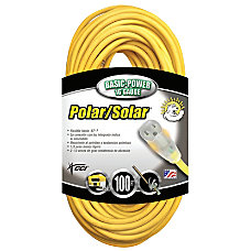 Southwire PolarSolar Extension Cord 100 Yellow