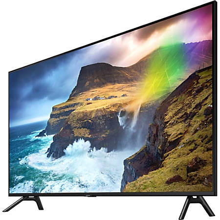 "Samsung Q70R QN75Q70RAF 74.5"" Smart LED-LCD TV - 4K UHDTV - Slate Black - Direct Full Array 4x Backlight - Bixby, Google Assistant, Alexa Supported - Tizen - Dolby, Dolby Digital Plus, Dolby Digital"