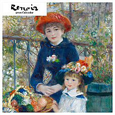 Retrospect Square Monthly Wall Calendar Renoir