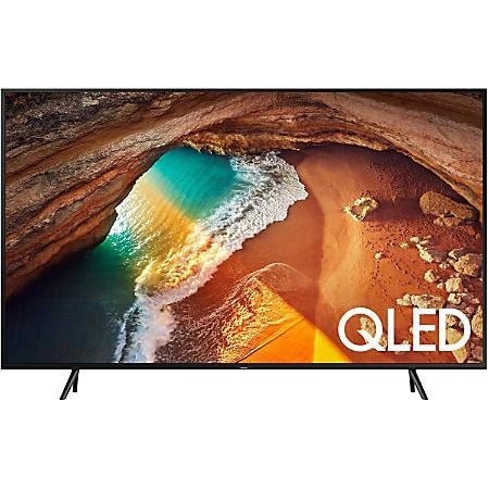 "Samsung Q60R QN75Q60RAF 74.5"" Smart LED-LCD TV - 4K UHDTV - Charcoal Black - Ultra Slim Array Backlight - Bixby, Google Assistant, Alexa Supported - Tizen - Dolby, Dolby Digital Plus, Dolby Digital"