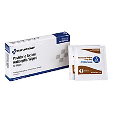 First Aid Only Povidone Iodine Antiseptic