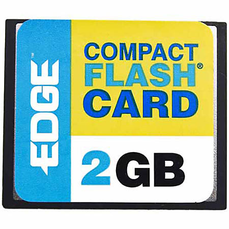 EDGE Tech 2GB Digital Media CompactFlash Card