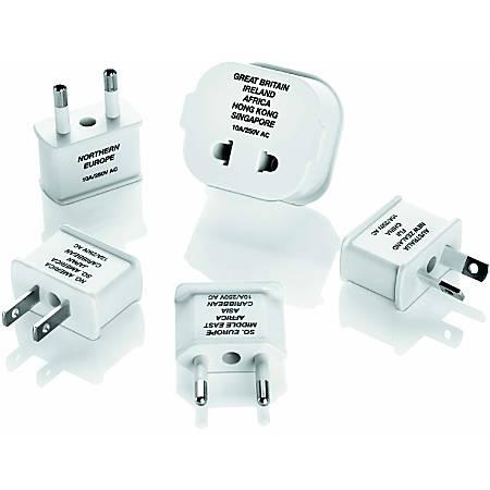 Travel Smart Polarized Adapter Plug 5pc Set