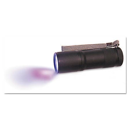 "Diversey™ VeriClean UV/Black Lights, 4 1/2"", Black, Pack Of 4 Flashlights"