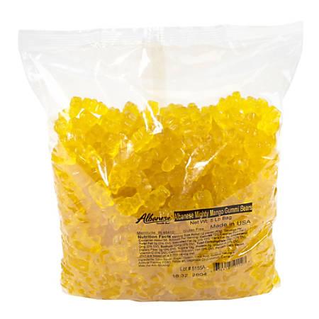 Albanese Confectionery Gummies, Mighty Mango Gummy Bears, 5-Lb Bag