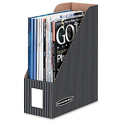 Bankers Box Magazine Files Letter Size