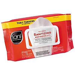 Sani Professional Table Turners No Rinse
