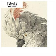 Retrospect Square Monthly Wall Calendar Birds