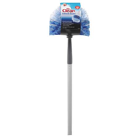 Mr. Clean® Telescopic Cobweb Duster, Blue/White