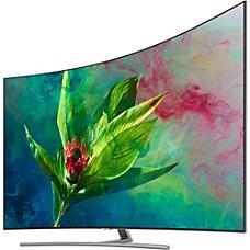 Samsung Q7CN QN65Q75CNF 645 Curved Screen