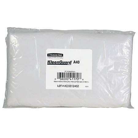 """Kimberly-Clark® KLEENGUARD A40 Liquid/Particle Sleeve Protectors, 18"""", White, Pack Of 200"""