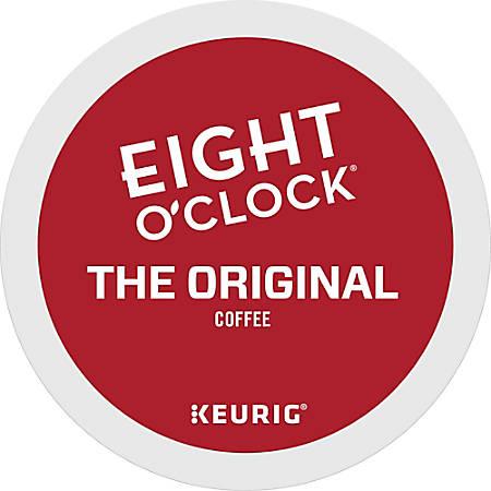 Eight O'Clock® Original Coffee Single-Serve K-Cup®, 3 Oz, Carton Of 24