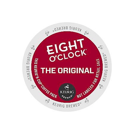 Eight O'Clock Original Coffee K-Cup® Pods, 3 Oz, Pack Of 24 Pods