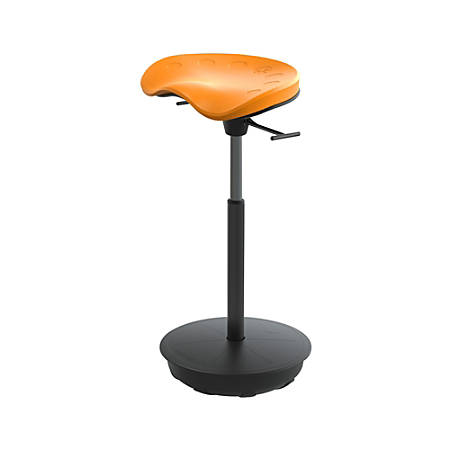 Safco® Active Focal Upright™ Pivot Seat, Orange/Black