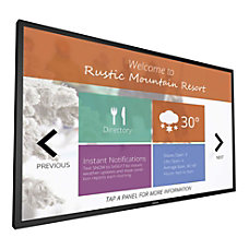 Philips Signage Solutions Multi Touch FHD