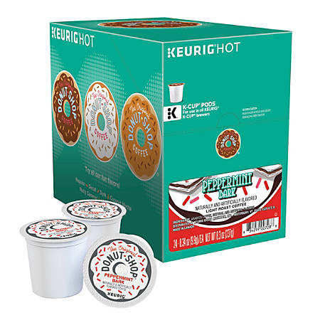 The Original Donut Shop® Peppermint Bark K-Cup® Pods, Box Of 24 Pods