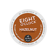 Eight OClock Hazelnut Coffee K Cup