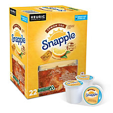 Snapple Lemon Iced Tea Single Serve