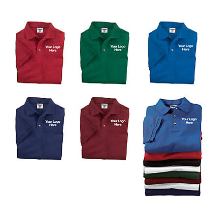Embroidered Sports Shirt