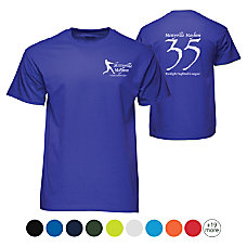 Screened 5050 T Shirt Color